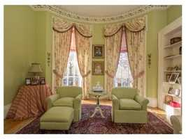 9a Monument Square #1 is on the market in Boston for $1.3 million.
