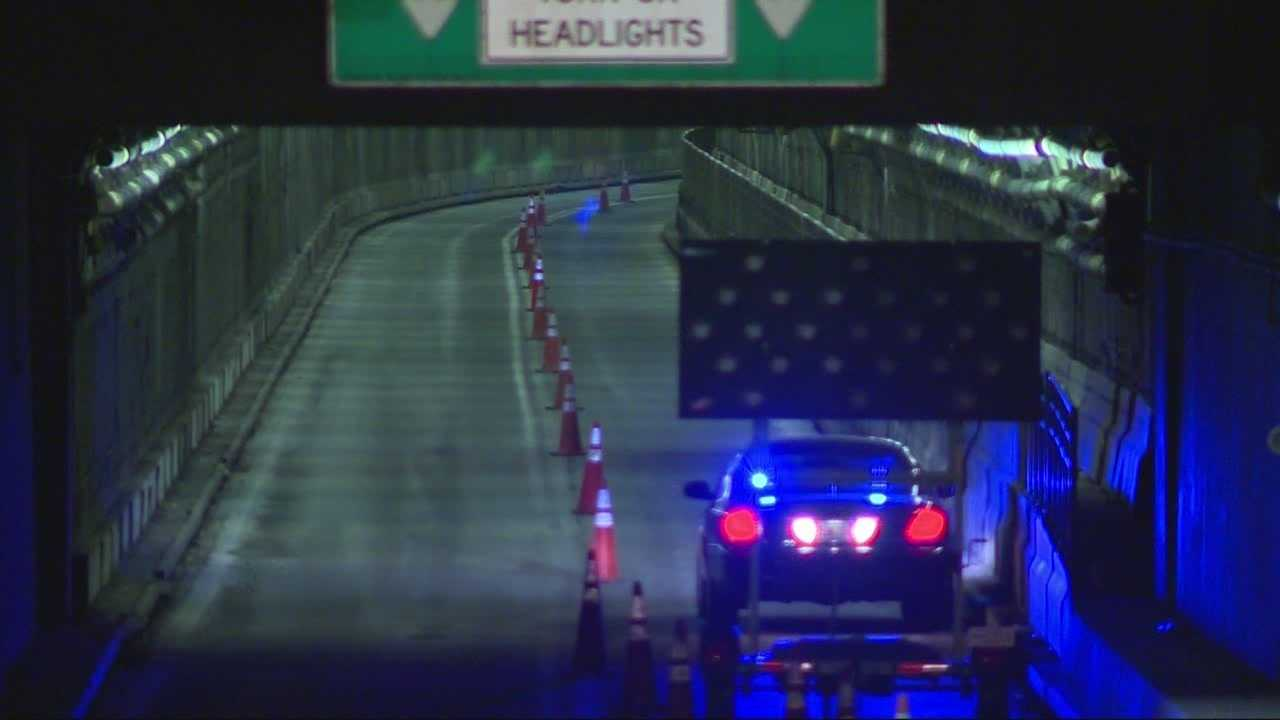 Boston airport tunnel set for lengthy closure