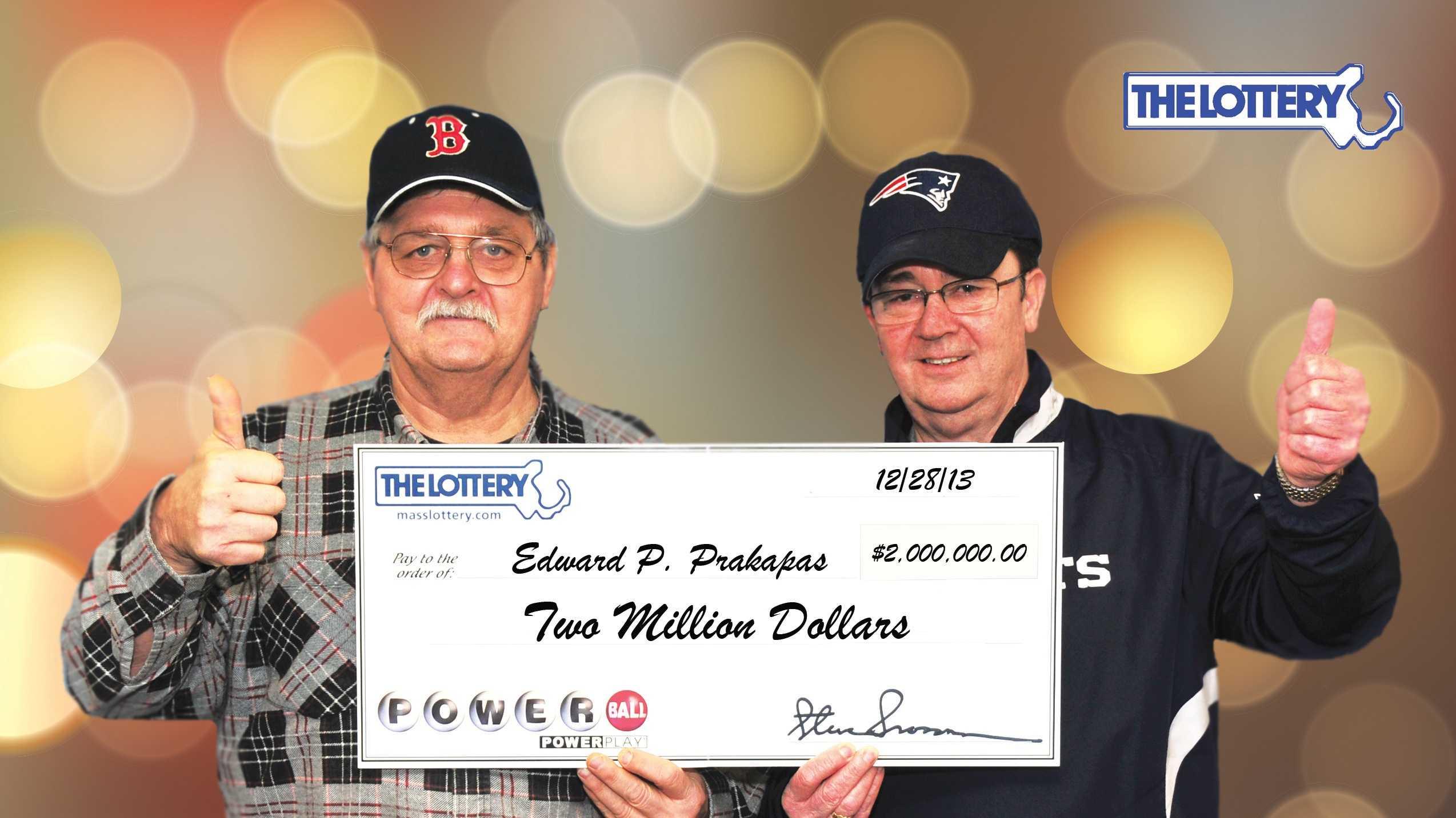 Lottery winners new