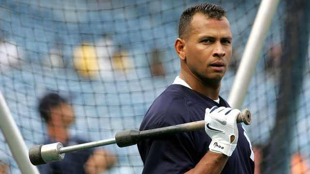Alex Rodriguez post suspension news conference