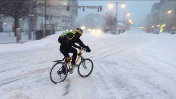 A tough ride in Boston Friday morning.