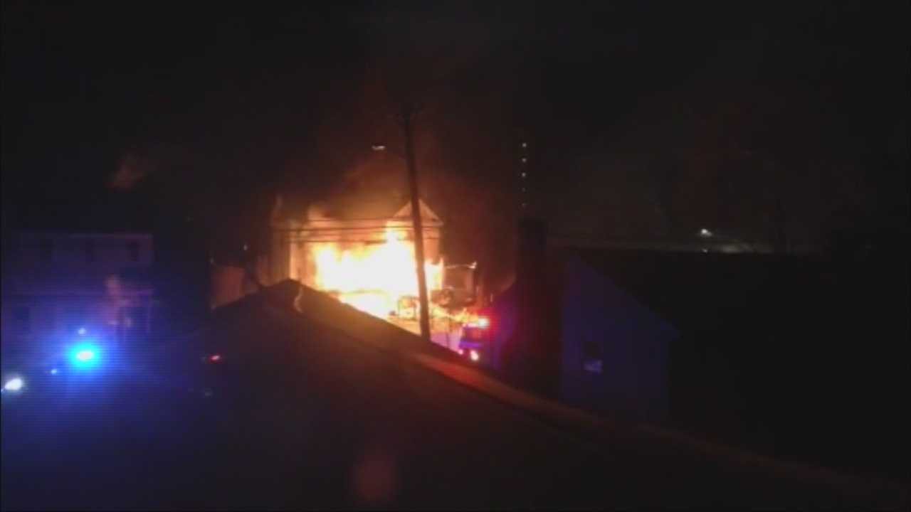 Fire leaves five homeless