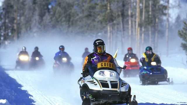 Snowmobile weekend