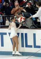 Seven weeks after the attack, Kerrigan won the silver medal in the 1994 Lillehammer Winter Olympics at the Hamar Olympic Amphitheatre, finishing second to Oksana Baiul.