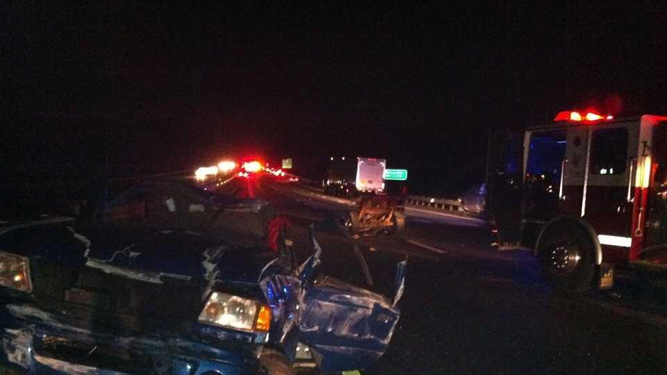 Oxford crash on pike