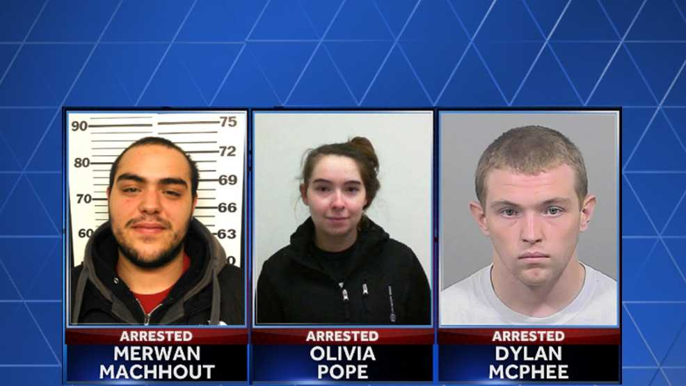 3 arrested in Casco home invasions