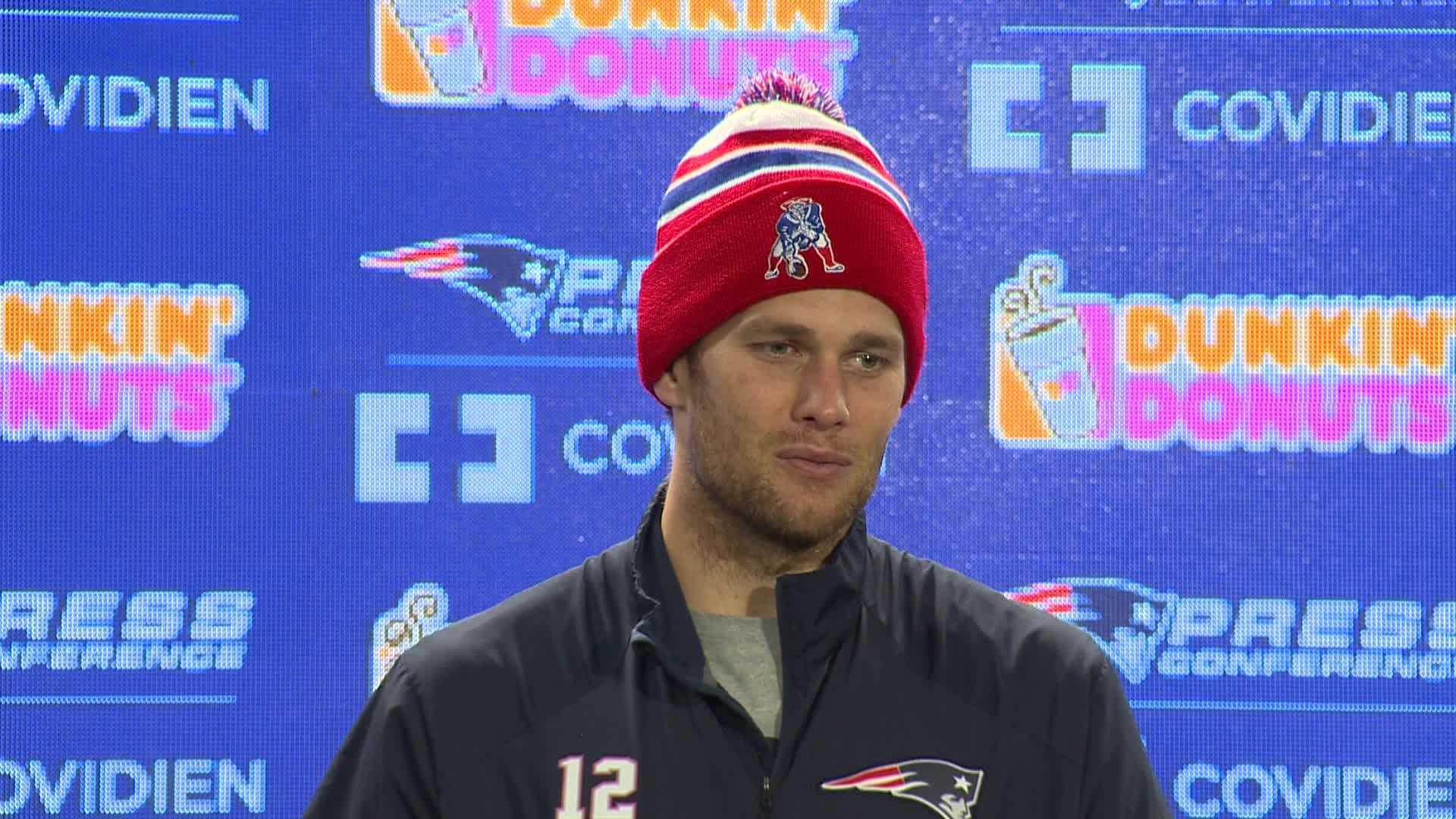 Tom Brady misses practice 0115