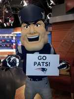 He joined the EyeOpener Crew to cheer on the Pats as they prepared to head to Denver.