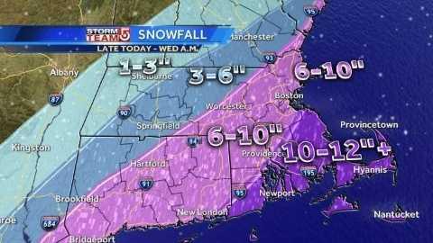 Tuesday noon snowfall graphics 012114