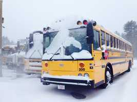Lucini Motors bus lot in West Bridgewater