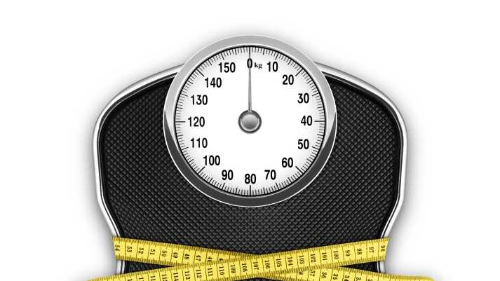 scale, weight loss, measuring tape