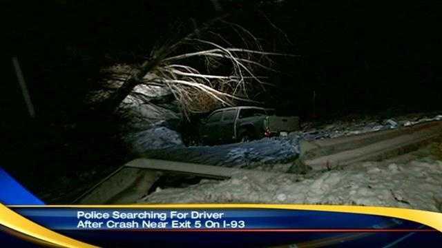 Guardrail crash