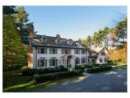 23 Walnut Road is on the market in Weston for $4.99 million.
