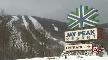 Jay Peak is four miles south of the Canadian border.