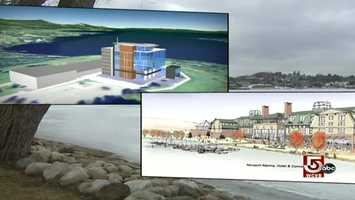 Plans for Newport include a bio-tech plant, conference center, and hotel.