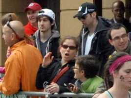 "Dzhokhar Tsarnaev, seen along Boylston Street with his brother Tamerlan, ""committed the offense after substantial planning and premeditation,"" the government charged."