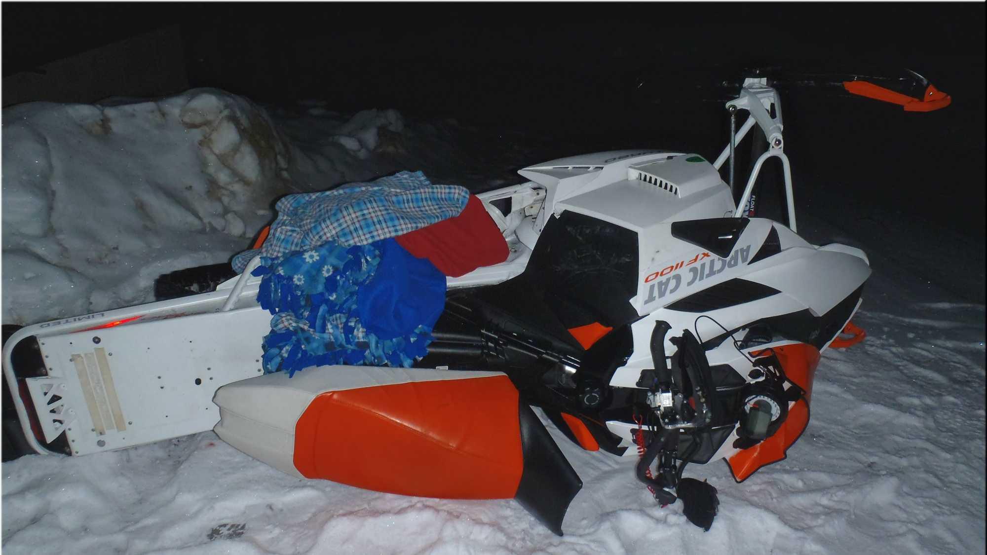Maine snowmobile fatal 0120114