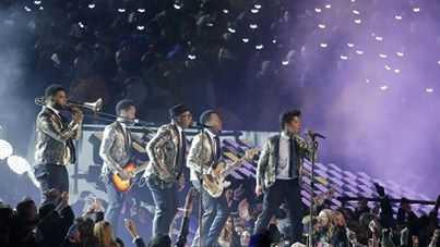 Bruno Mars Super Bowl show020214