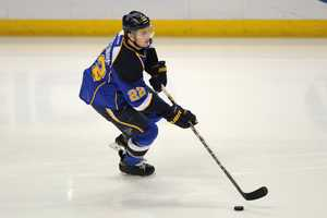 Kevin Shattenkirk, of Greenwich, Conn., is on the men's hockey team. He also plays for the St. Louis Blues.