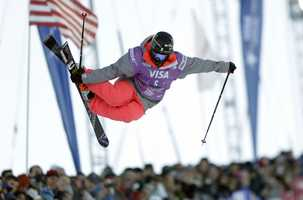 Devin Logan, of West Dover, Vt., is a freestyle skier.