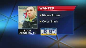 The children were abducted at gunpoint by their mother's ex-boyfriend, Eddie Ahorrio Jr., 23. Ahorrio is believed to be with his father, Eddie Ahorrio Sr., 47.