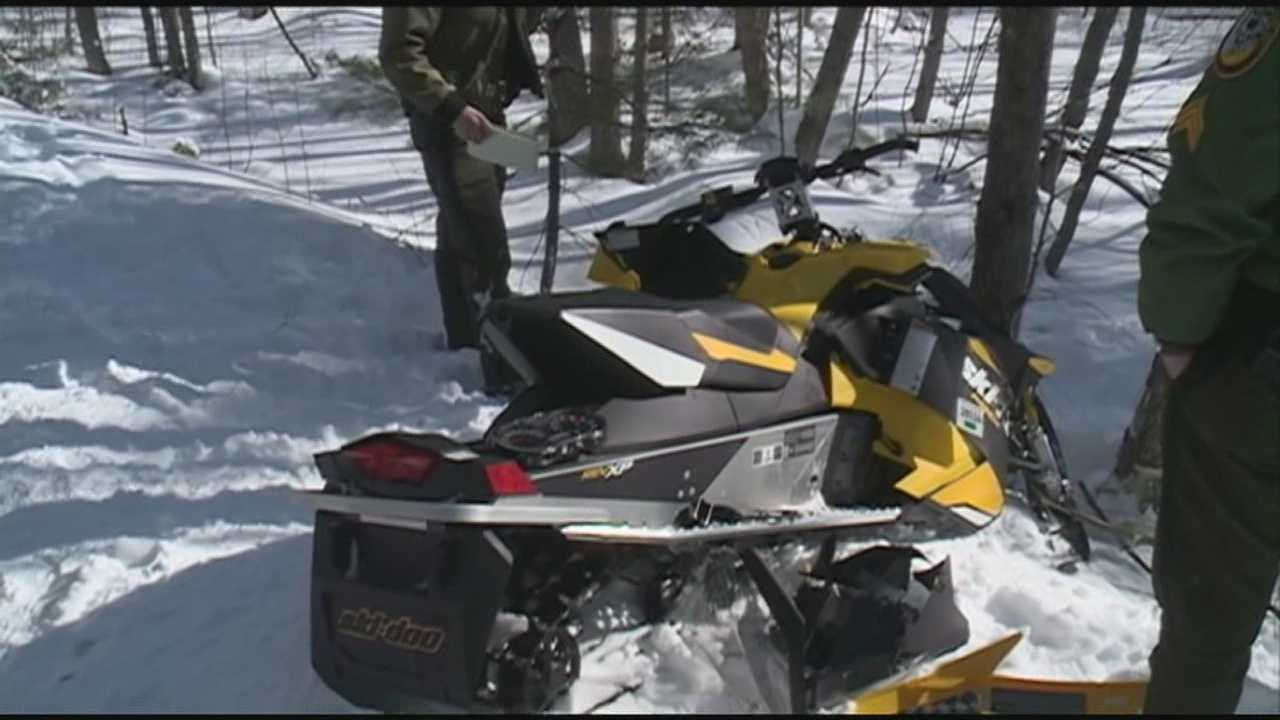 Firefighter injured in snowmobile crash