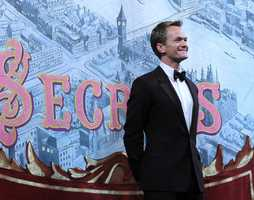 Neil Patrick Harris took the stage at Harvard University on Friday to accept the 2014 Man of the Year Award from America's oldest undergraduate drama troupe.