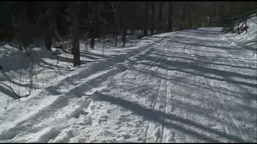Generic snowmoile trail