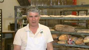 "Richard Bourdon, ""a bread maniac,"" has been baking a better bread, since 1985."