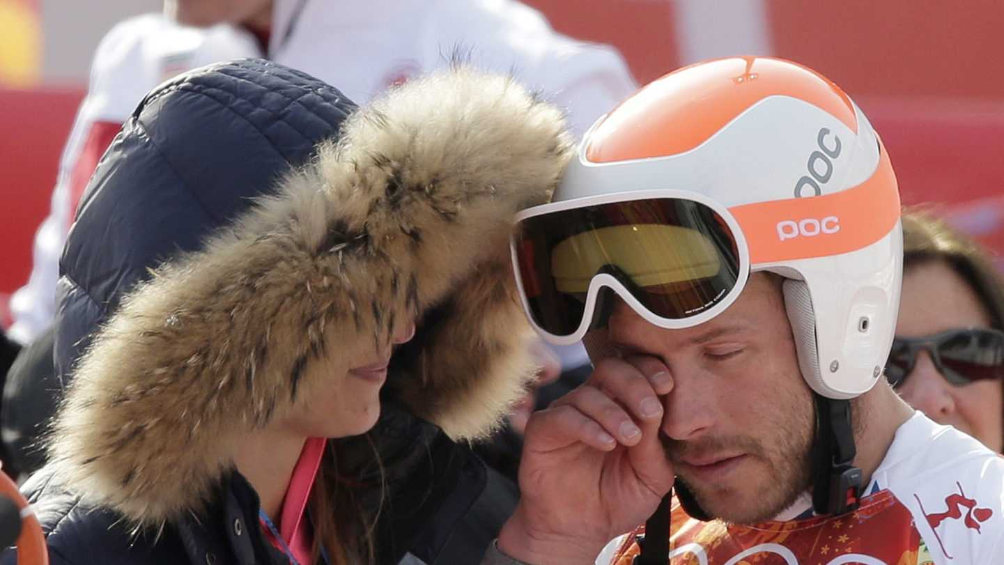 Bode Miller with Wife AP 021714.jpg