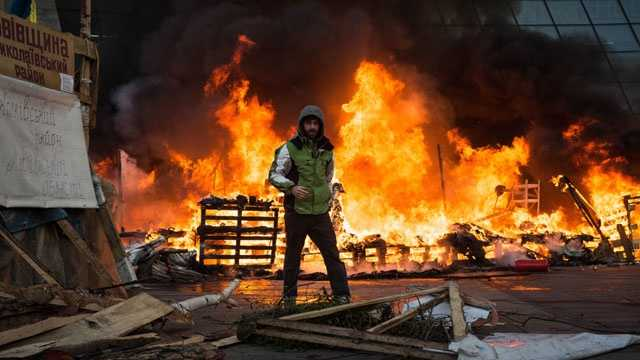 Kiev, Ukraine protests