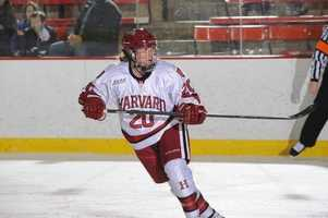 Michelle Picard, of Taunton, Mass., is on the women's ice hockey team. She also plays for Harvard University.