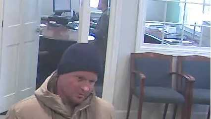 New Ipswich bank robbery suspect