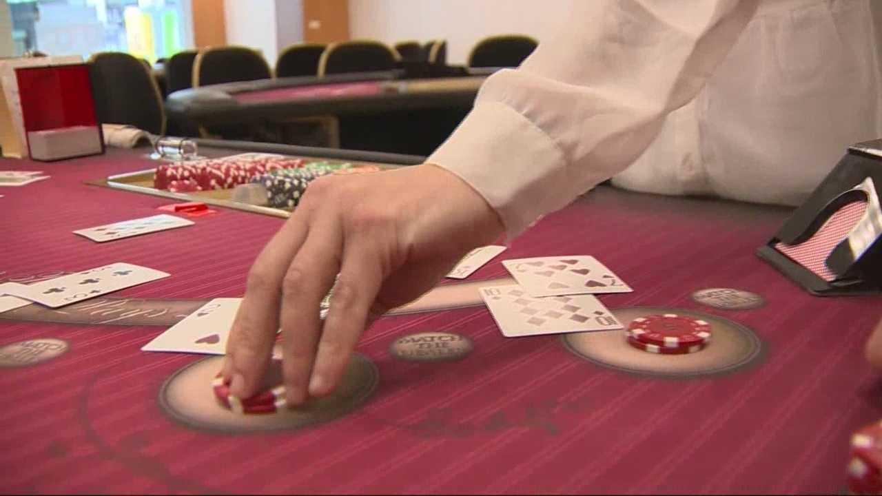 Casino dealer academy opens inside local mall