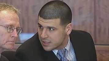 Aaron Hernandez was indicted on murder charges in connection with the deaths of two men in Boston in 2012.