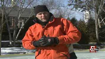 Chronicle's Ted Reinstein explores winter here in Camden.