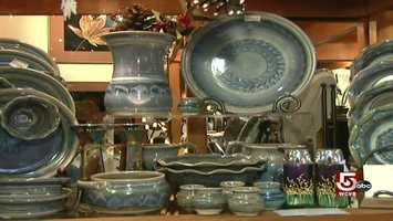 Over the years, Once a Tree has branched out into pottery, stone work, and other American-made handicrafts.