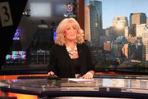 Susan anchors one of her last news updates.