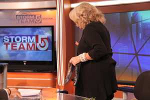 Susan leaves the set for the last time as anchor of NewsCenter 5 Midday.