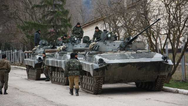 Troops in Ukraine