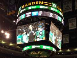 The trip to Boston was made possible thanks to friends, family, corporate donations and the Celtics.