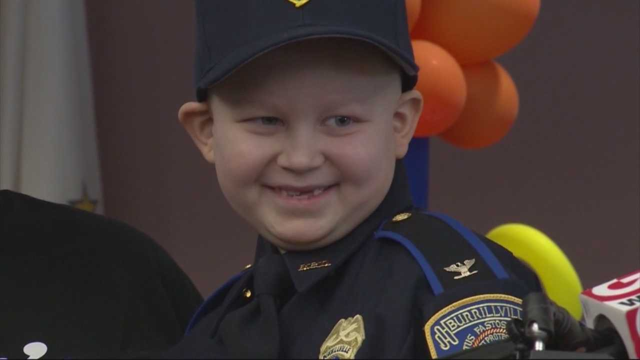 Tyler Seddon celebrates birthday with hundreds of first responders