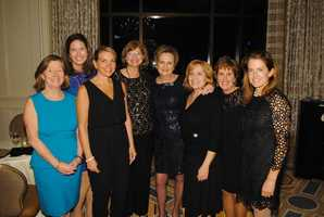 Joan McDonald, Alyson O'Hara, Jessica Tully, Meredith Tufts, Pat Villani, Marianne Round, Karen Bernier and Alice Miller, all of Coldwell Banker Residential Brokerage