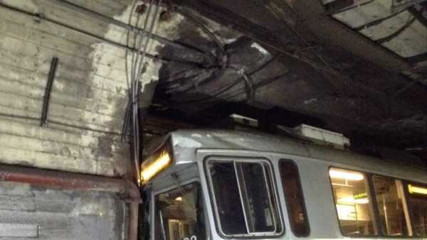 MBTA Green Line Crash Boston Fired 3.10.14