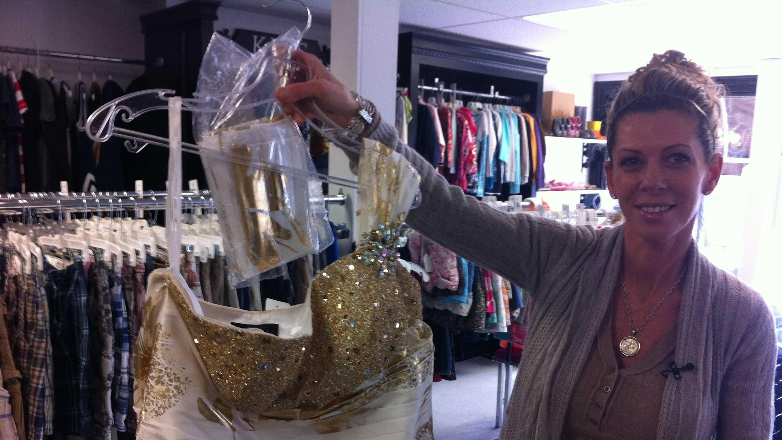 Abington prom dress