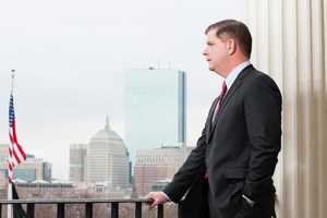 Marty Walsh is Mayor of Boston
