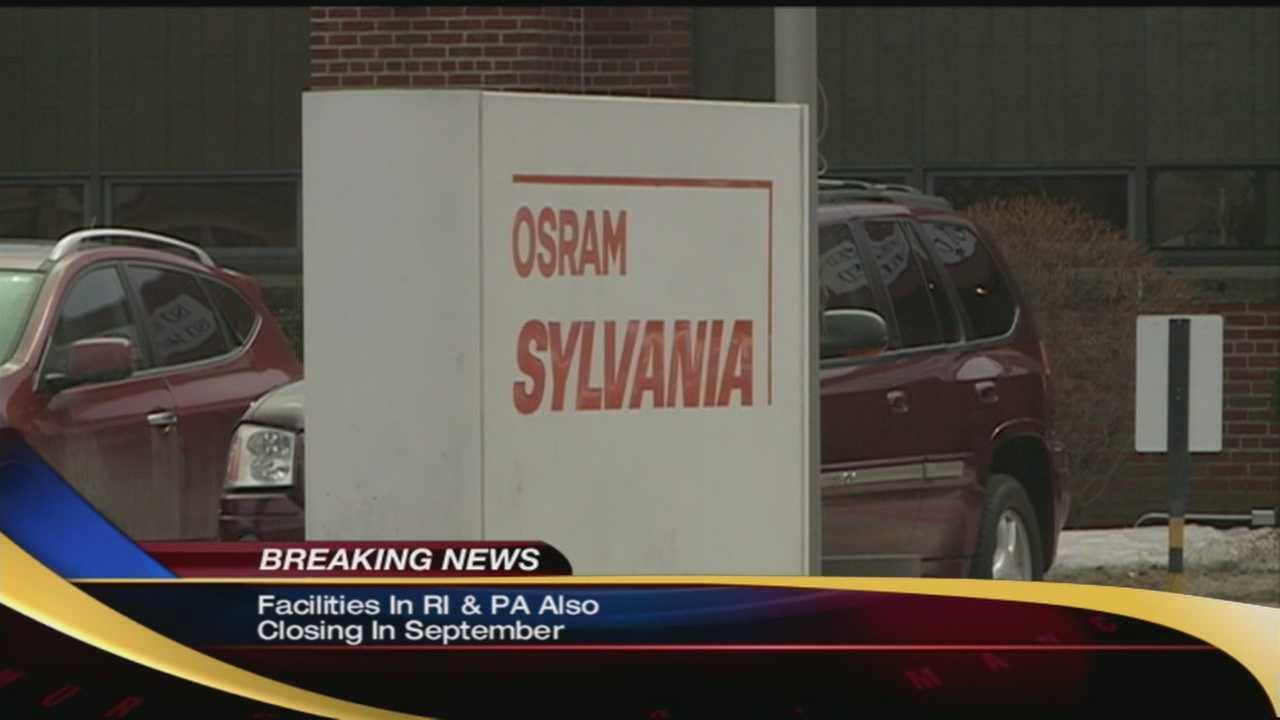 Osram Sylvania closing its Manchester location