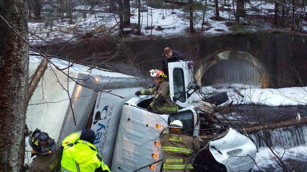 Warren Truck Crash 3.20.14