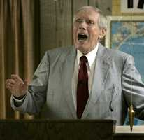 The Rev. Fred Phelps Sr.was the fiery founder of a small Kansas church who led outrageous and hate-filled protests that blamed almost everything, including the deaths of AIDS victims and U.S. soldiers, on America's tolerance for gay people. Throughout his life, Phelps and the Westboro Baptist Church, a small congregation made up almost entirely of his extended family, tested the boundaries of free speech, violating accepted societal standards for decency in their unapologetic assault on gays and lesbians. (November 13, 1929 – March 19, 2014)