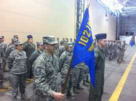 The 31 airmen of the 212th Engineer Installation Squadron are scheduled to deploy from late March to late November.